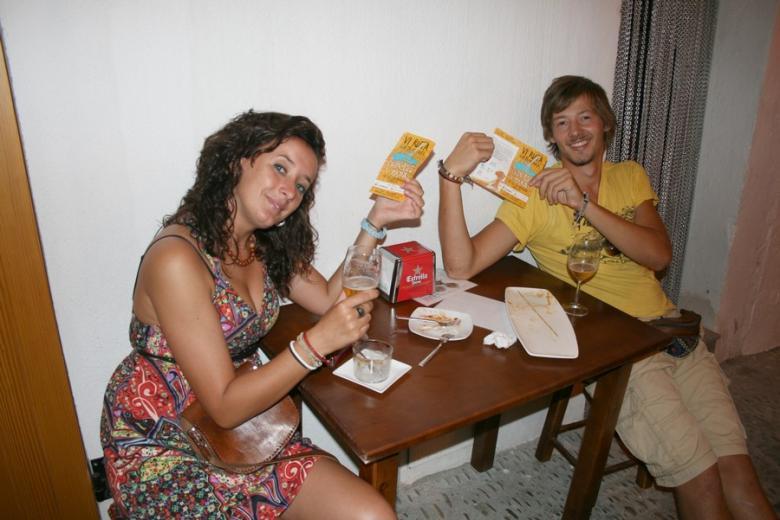 Chanclas y tapas 2011