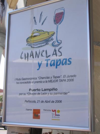 Chanclas y tapas 2006