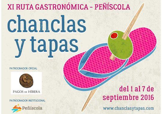 Presentada la XI Ruta Gastronómica Chanclas y Tapas Peñíscola